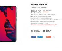 Стали известны цена и характеристики Huawei Mate 20