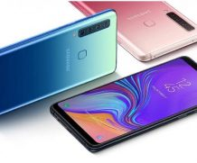 Samsung Galaxy A9 (2018) - the world's first smartphone with 4 cameras