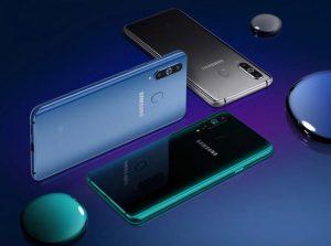 Samsung Galaxy A8s цвета