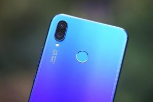 Huawei nova 3i камера