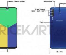 В сеть утекли характеристики и дизайн Samsung Galaxy M30