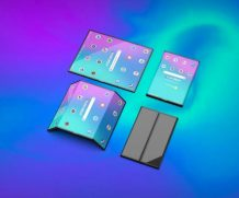 3D-рендер складного смартфона Xiaomi демонстрирует возможностью двойного складывания