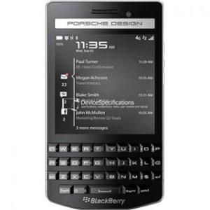 Характеристики BlackBerry Porsche Design P'9983