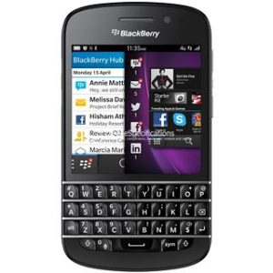 Характеристики BlackBerry Q10