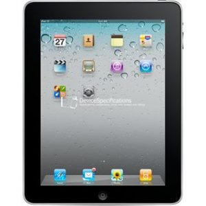Характеристики Apple iPad Wi-Fi