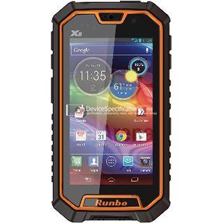 Характеристики Runbo X6 4G